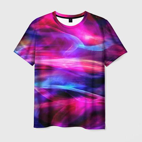 Мужская футболка 3D  Фото 01, Глянцевый свет