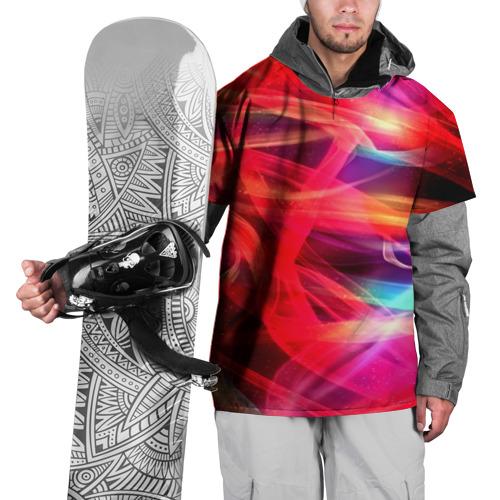 Накидка на куртку 3D  Фото 01, Abstract glow
