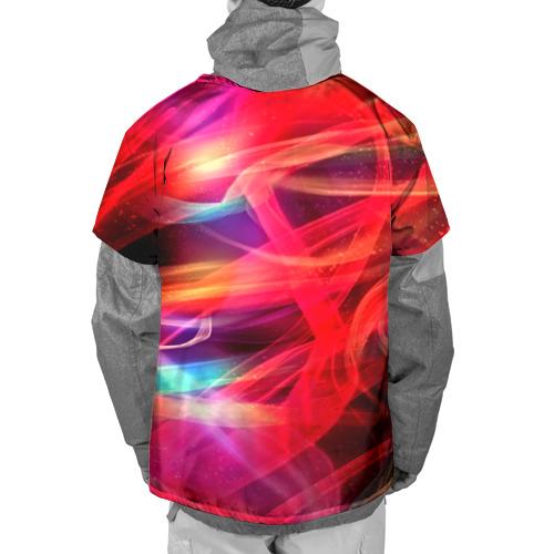 Накидка на куртку 3D  Фото 02, Abstract glow