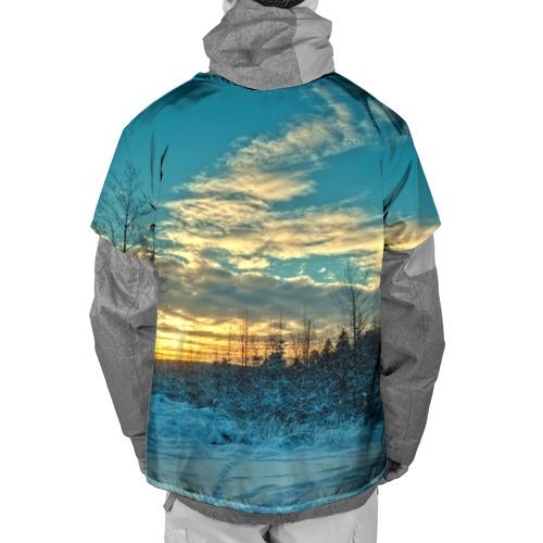 Накидка на куртку 3D  Фото 02, Winter sunset