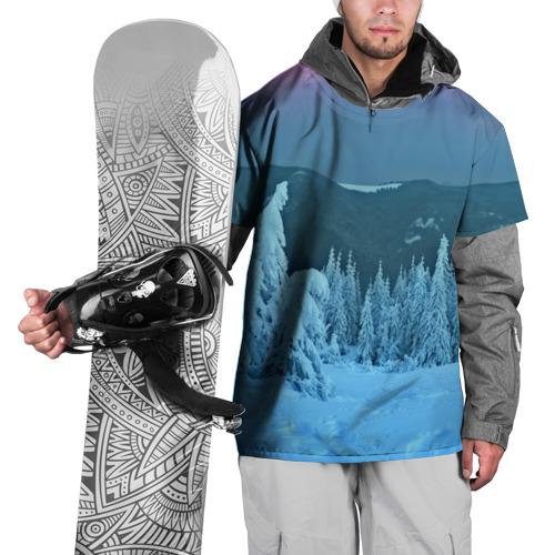 Накидка на куртку 3D  Фото 01, Зима