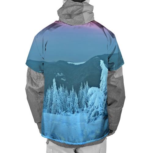 Накидка на куртку 3D  Фото 02, Зима