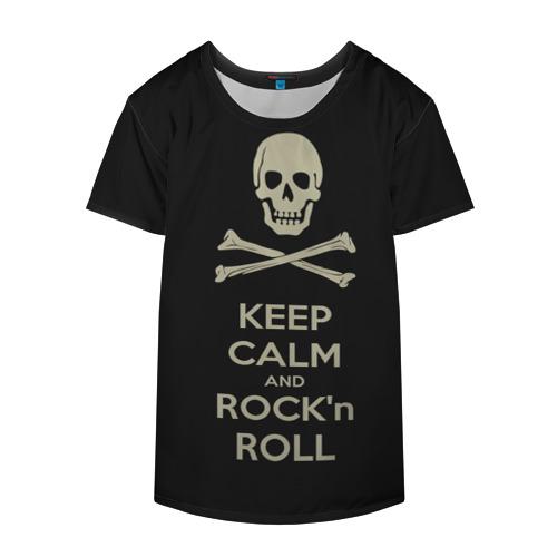 Накидка на куртку 3D  Фото 04, Keep Calm and ROCK