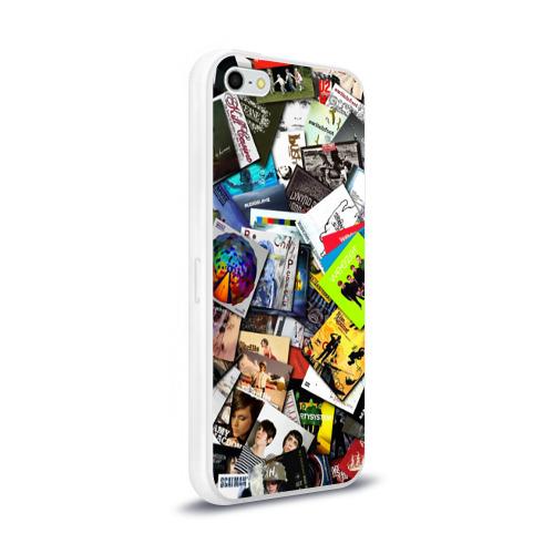 Чехол для Apple iPhone 5/5S силиконовый глянцевый  Фото 02, Albums