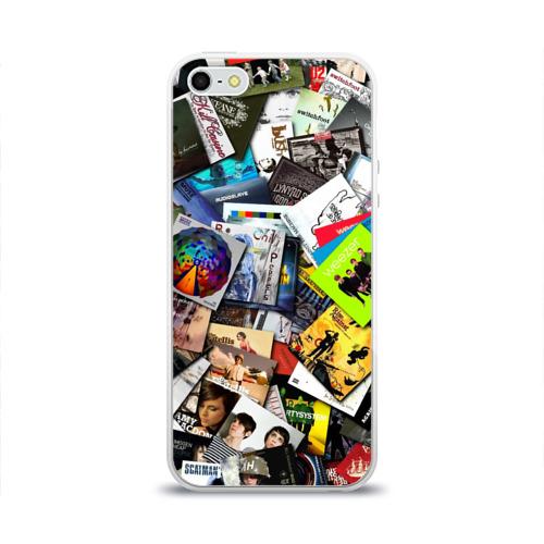Чехол для Apple iPhone 5/5S силиконовый глянцевый  Фото 01, Albums