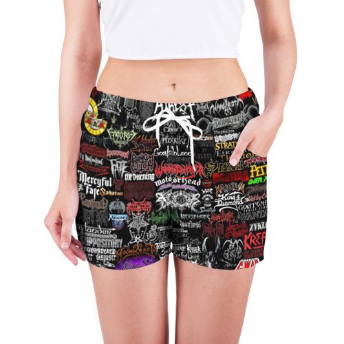 Женские шорты 3D  Фото 03, Hard Rock