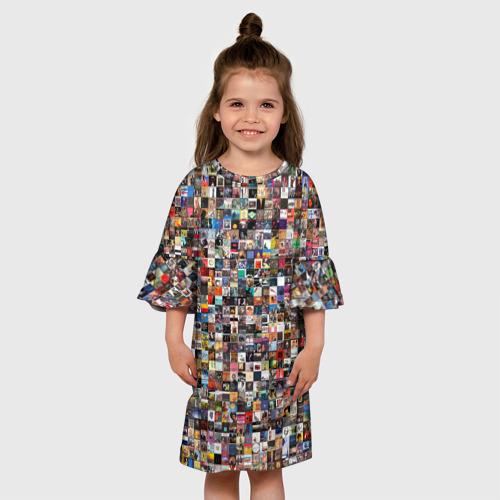 Детское платье 3D  Фото 01, music