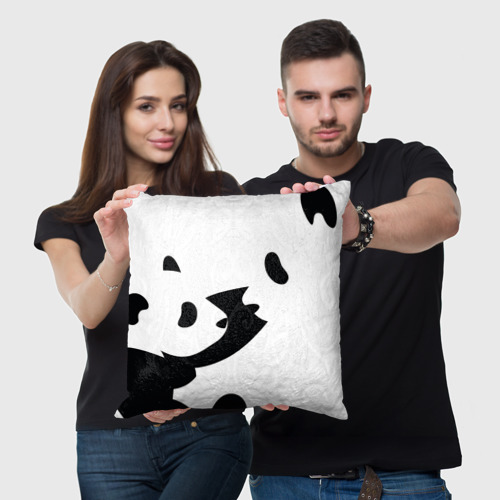 Подушка 3D  Фото 05, Силуэт панд