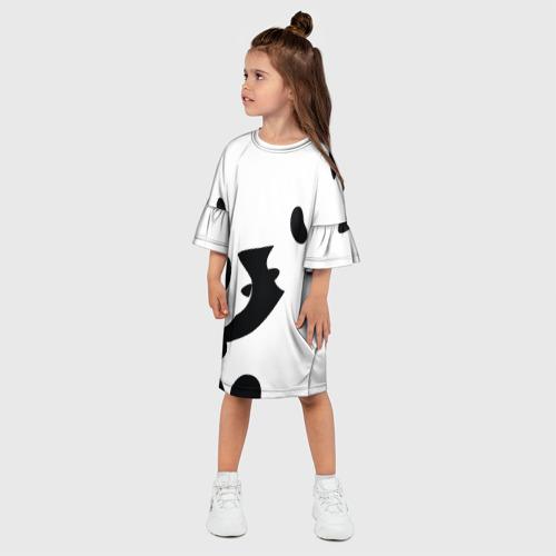Детское платье 3D  Фото 03, Силуэт панд