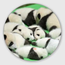 Новорожденные панды