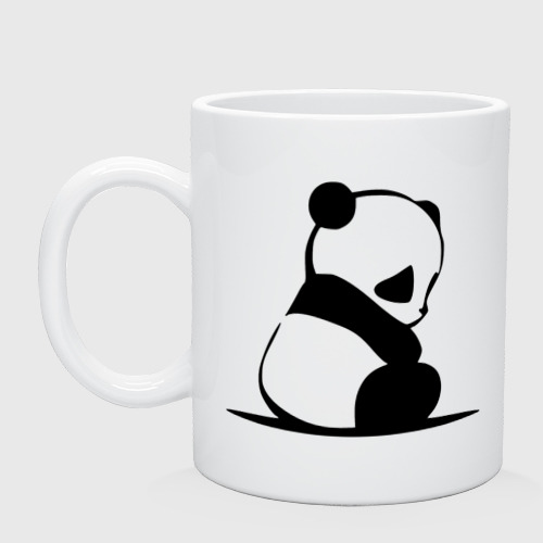 Грустный панда
