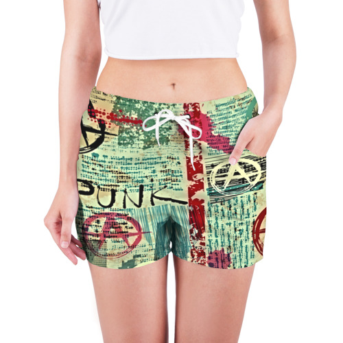 Женские шорты 3D  Фото 03, Punk