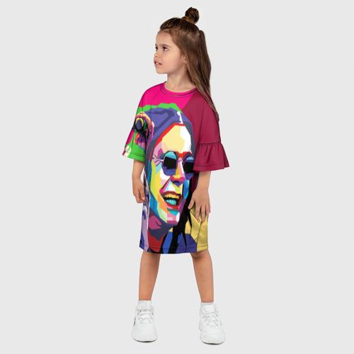 Детское платье 3D  Фото 03, Оззи Осборн