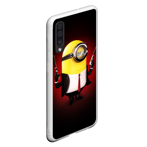 Чехол для Samsung A50 Minion Hitman Фото 01