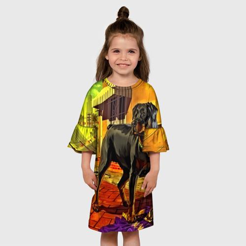 Детское платье 3D  Фото 01, Чомп