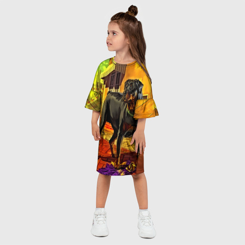 Детское платье 3D  Фото 03, Чомп