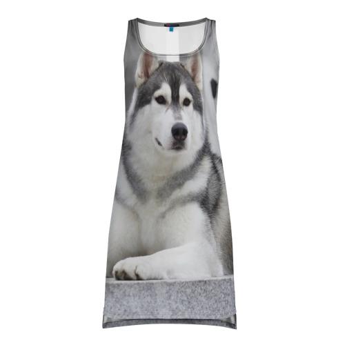 Платье-майка 3D Волчья парода