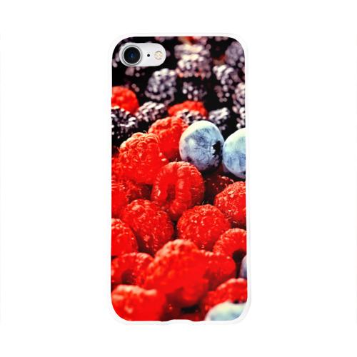 Чехол для Apple iPhone 8 силиконовый глянцевый  Фото 01, Ягоды