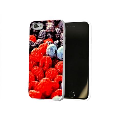 Чехол для Apple iPhone 8 силиконовый глянцевый  Фото 02, Ягоды