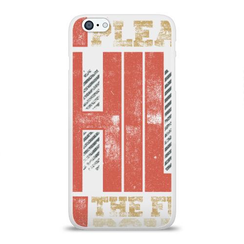 Чехол для Apple iPhone 6Plus/6SPlus силиконовый глянцевый  Фото 01, Успокойся