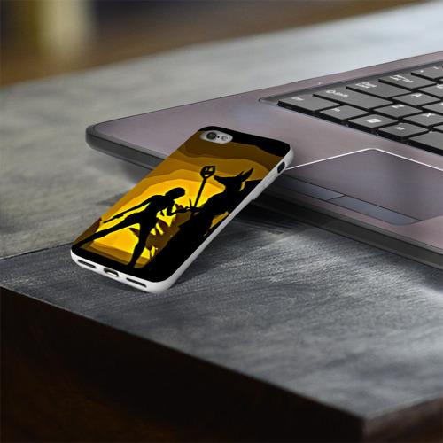 Чехол для Apple iPhone 8 силиконовый глянцевый  Фото 03, Tomb Raider
