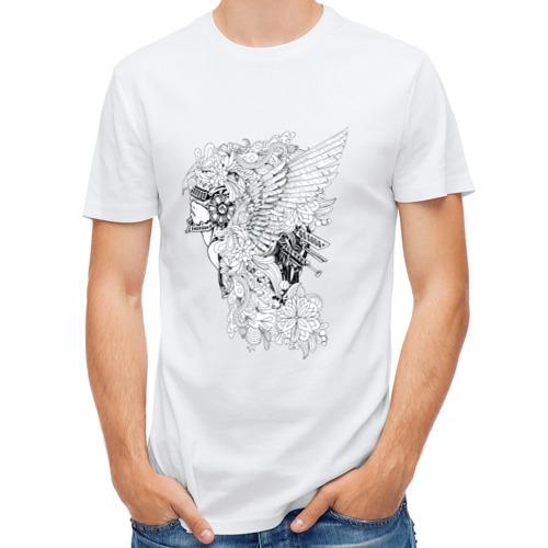 Мужская футболка полусинтетическая  Фото 01, Валькирия