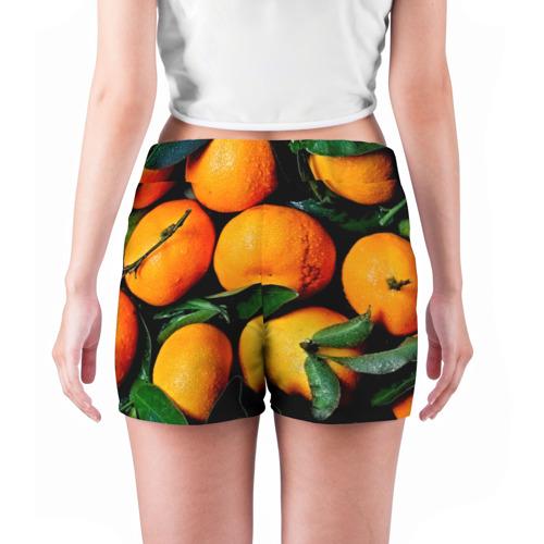 Женские шорты 3D  Фото 04, Мандаринчики