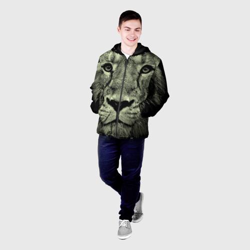 Мужская куртка 3D  Фото 03, Лев