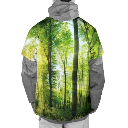 Накидка на куртку 3D  Фото 02, Солнечный лес