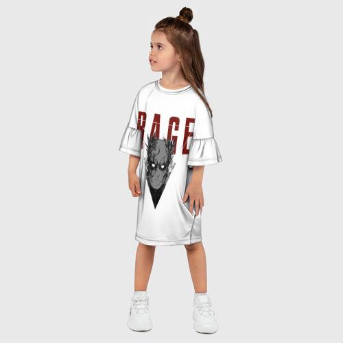Детское платье 3D  Фото 03, MGS Man on Fire grey