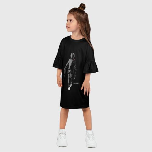 Детское платье 3D  Фото 03, Tretij rebenok grey