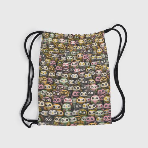 Рюкзак-мешок 3D  Фото 04, Совы