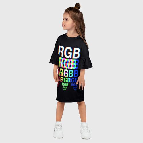Детское платье 3D  Фото 03, RGB