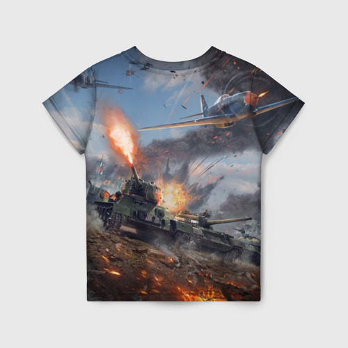 Детская футболка 3D Отечественная война Фото 01