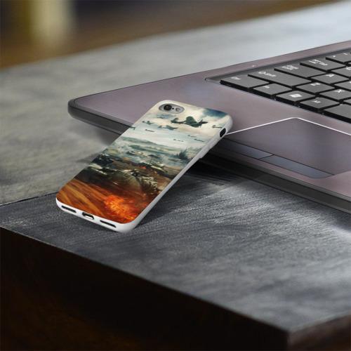 Чехол для Apple iPhone 8 силиконовый глянцевый  Фото 03, Отечественная война
