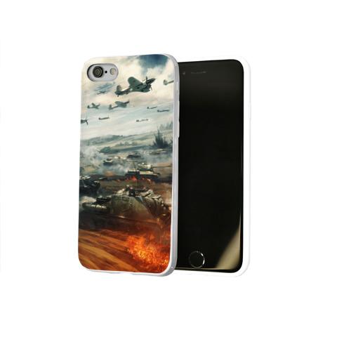 Чехол для Apple iPhone 8 силиконовый глянцевый  Фото 02, Отечественная война
