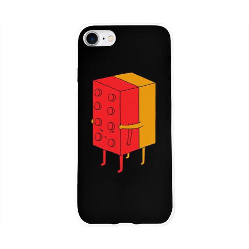 Чехол для Apple iPhone 8 силиконовый глянцевый  Фото 01, I'll never let go