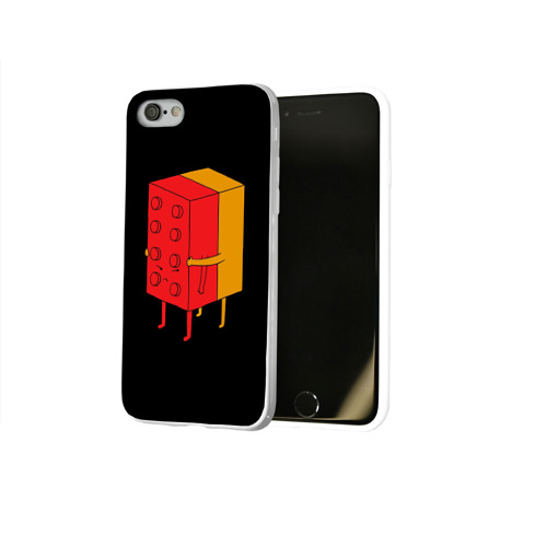 Чехол для Apple iPhone 8 силиконовый глянцевый  Фото 02, I'll never let go
