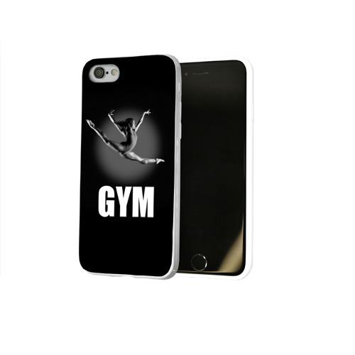 Чехол для Apple iPhone 8 силиконовый глянцевый  Фото 02, Gym