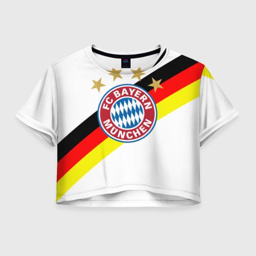 Женская футболка Cropp-top ФК Бавария