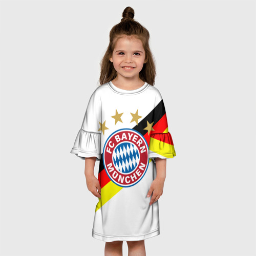 Детское платье 3D  Фото 01, ФК Бавария