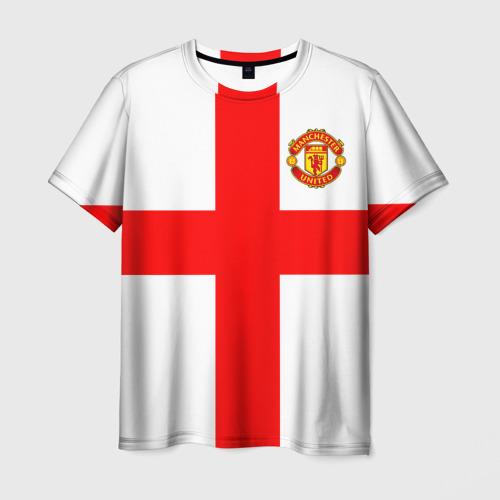 Мужская футболка 3D  Фото 03, Manchester united
