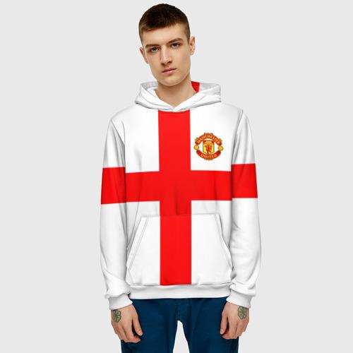 Мужская толстовка 3D  Фото 03, Manchester united