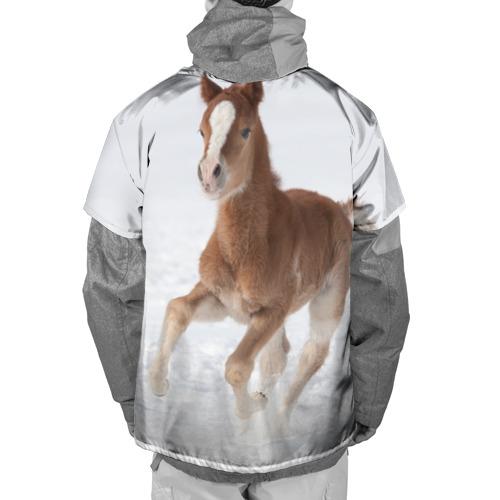 Накидка на куртку 3D  Фото 02, Жеребенок