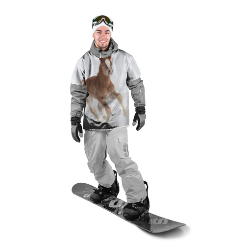 Накидка на куртку 3D  Фото 03, Жеребенок