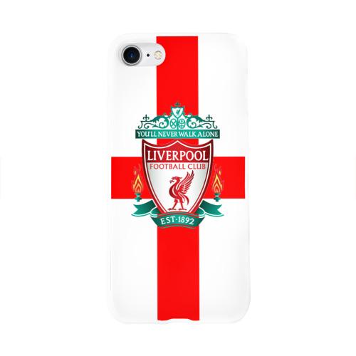 Чехол для Apple iPhone 8 силиконовый глянцевый  Фото 01, Ливерпуль ФК
