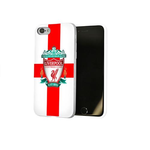 Чехол для Apple iPhone 8 силиконовый глянцевый  Фото 02, Ливерпуль ФК