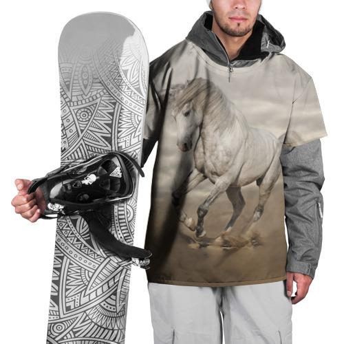 Накидка на куртку 3D  Фото 01, Жеребец