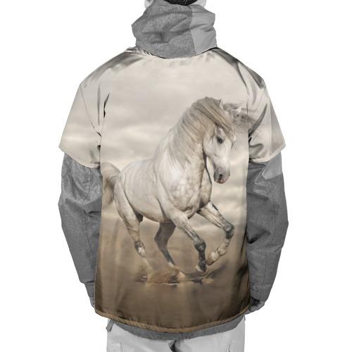 Накидка на куртку 3D  Фото 02, Жеребец