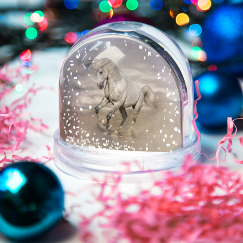 Водяной шар со снегом  Фото 03, Жеребец